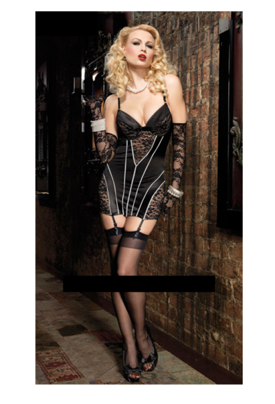 6871bb349 Lacey Black Classic Vintage Lingerie - Classic Chicana s Club